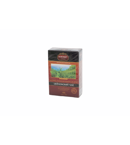 Чай чёрный цейлонский среднелистовой 100 гр 'Kwinst'