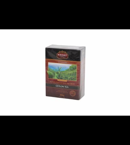 Чай чёрный цейлонский среднелистовой 250 гр 'Kwinst'