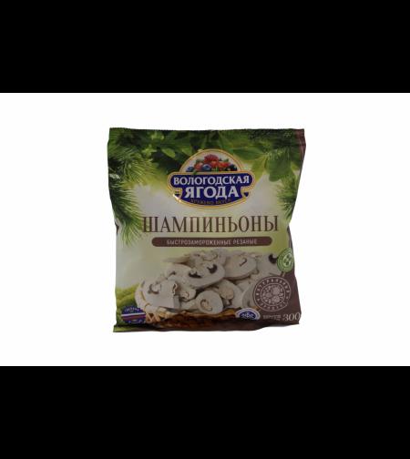 Шампиньоны резанные 'Кружево Вкуса' 300 гр