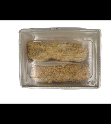 Пирожное 'Эклер' с ванил. глазур. 120 гр 'Эльйон'