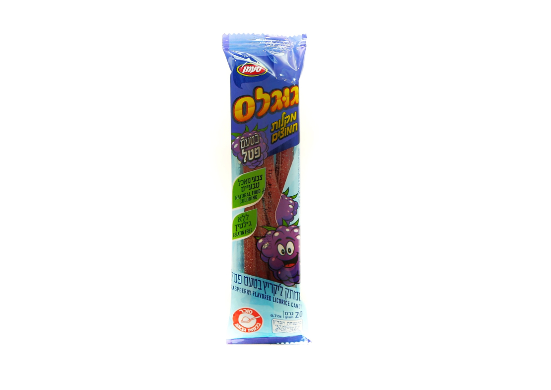 Жевательные конфеты со вкусом малины