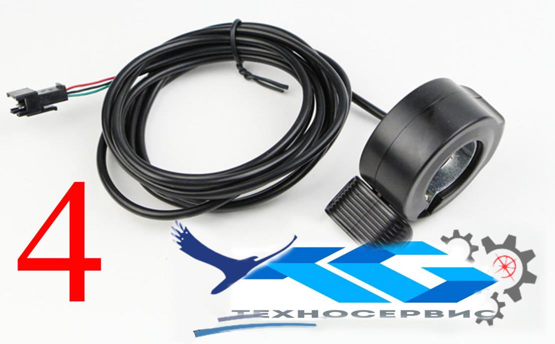 Клавиша газа (педалька) мини исполнения для электросамокатов электровелосипедов, электроскутеров