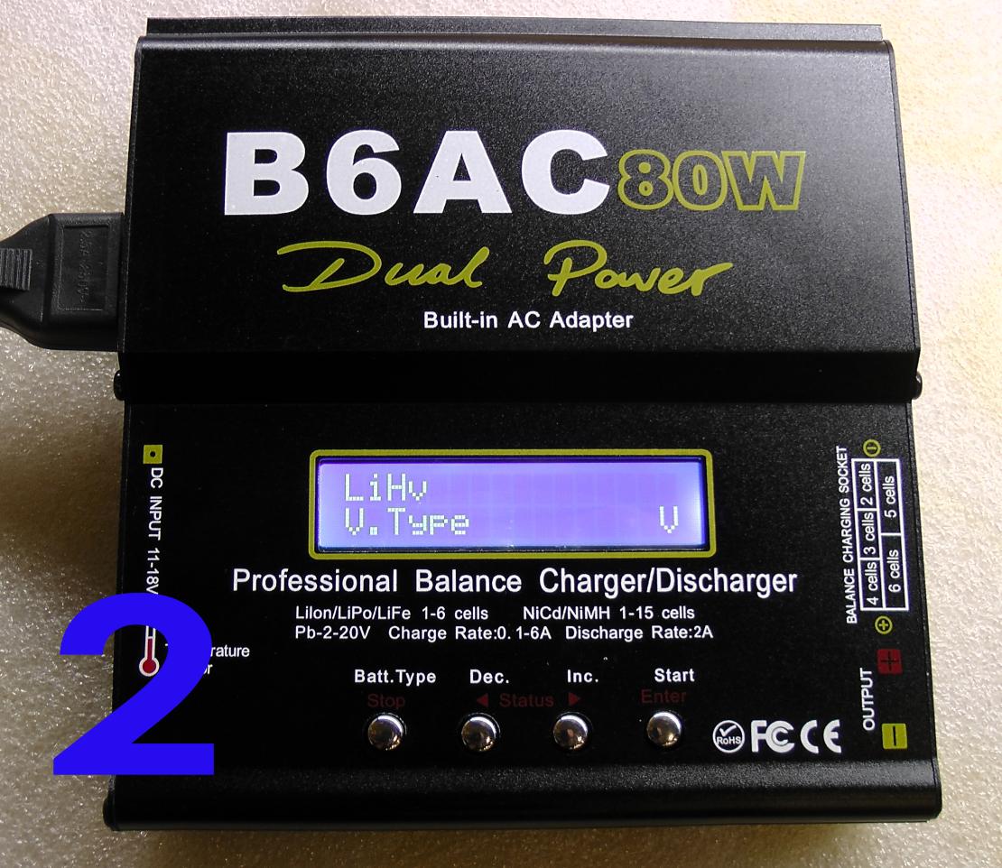 Интеллектуальное зарядное устройство iMAX B6AC с встроенным блоком питания (12V-6A)