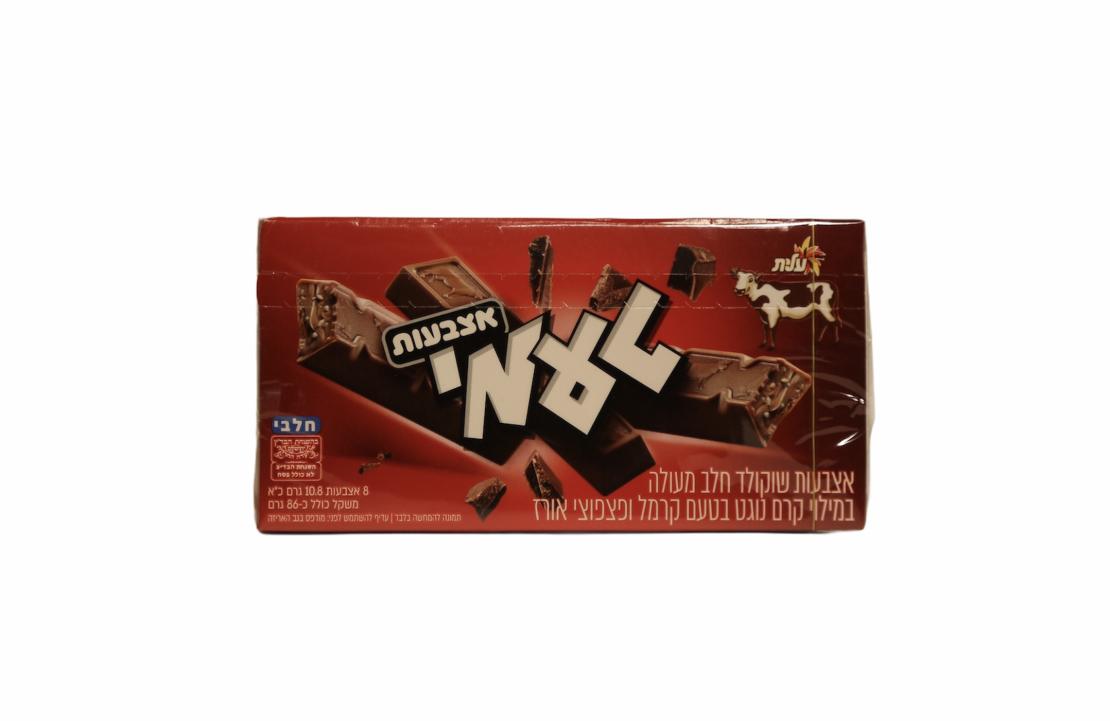 Шоколадные пальчики с возд. рисом и карамелью