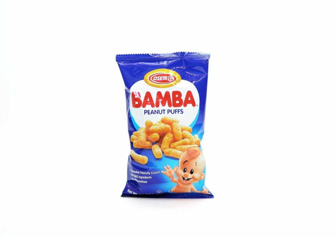 Кукурузно-арахисовые палочки 'Bamba' 100 гр