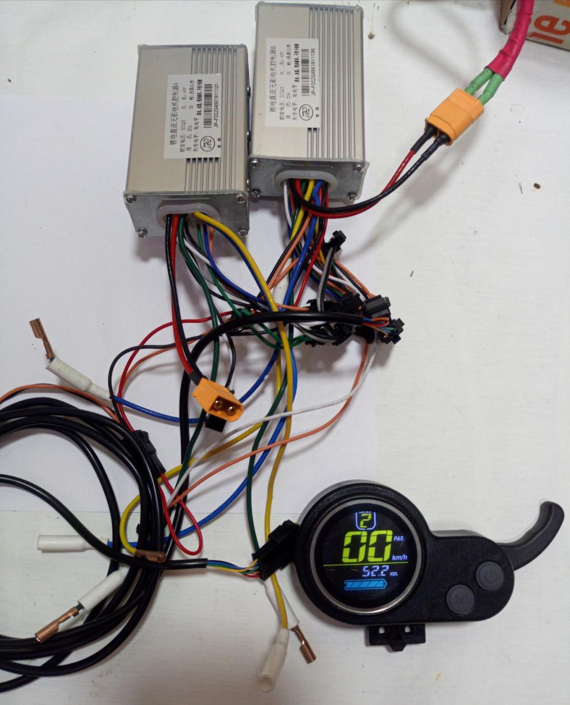G-Booster двойной контроллер jlp 52v 2*25Ампер